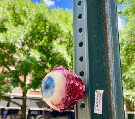 eyeball by billy barnacles photo by gail worley