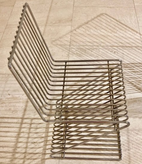 francois arnal z chair photo by gail worley