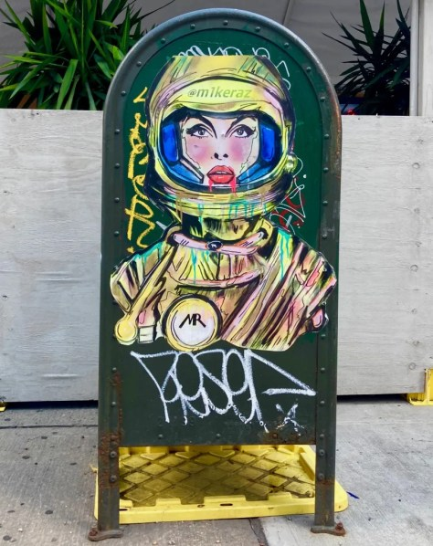 space girl yellow 1 by mike raz photo by gail worley