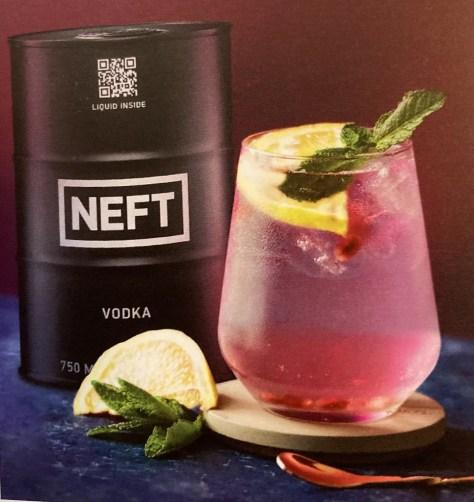 neft honey bear cocktail