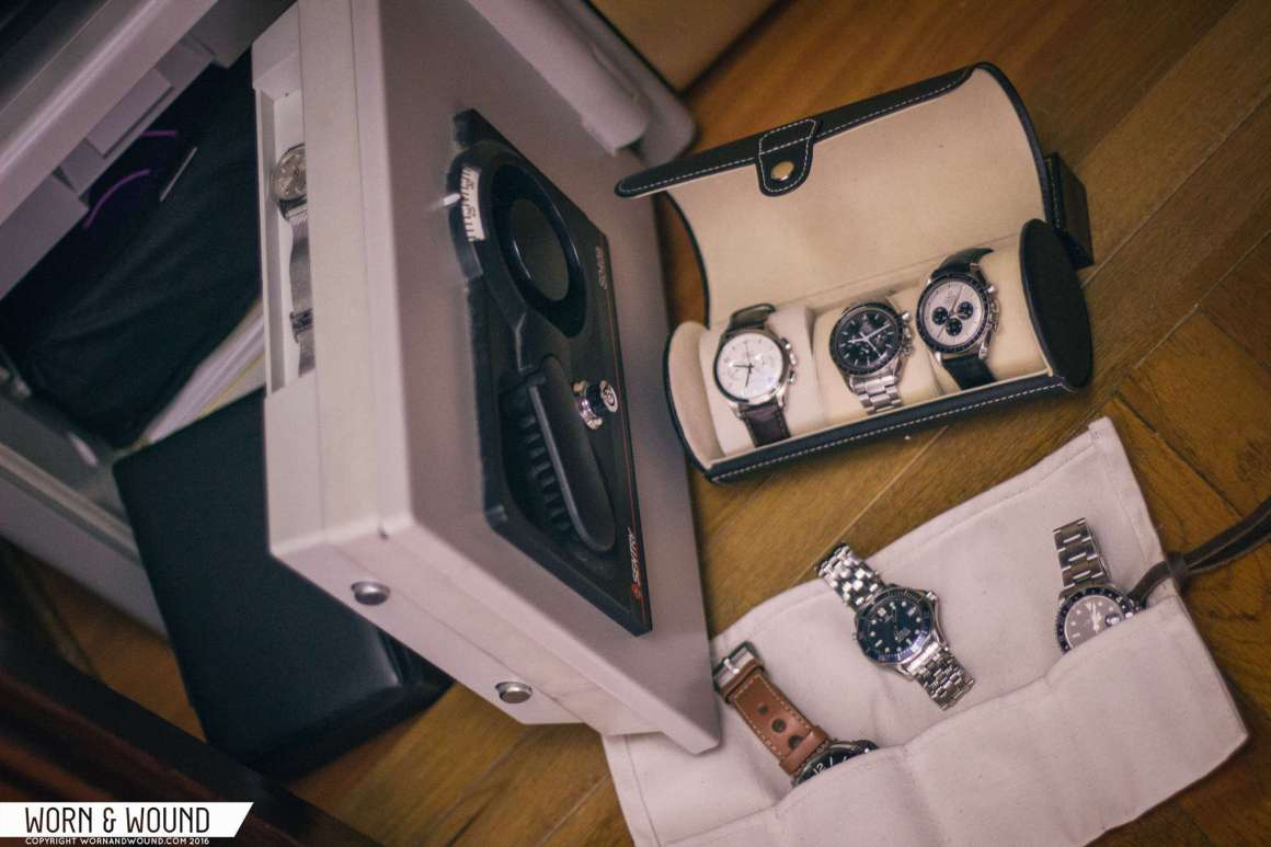 safely store your watch