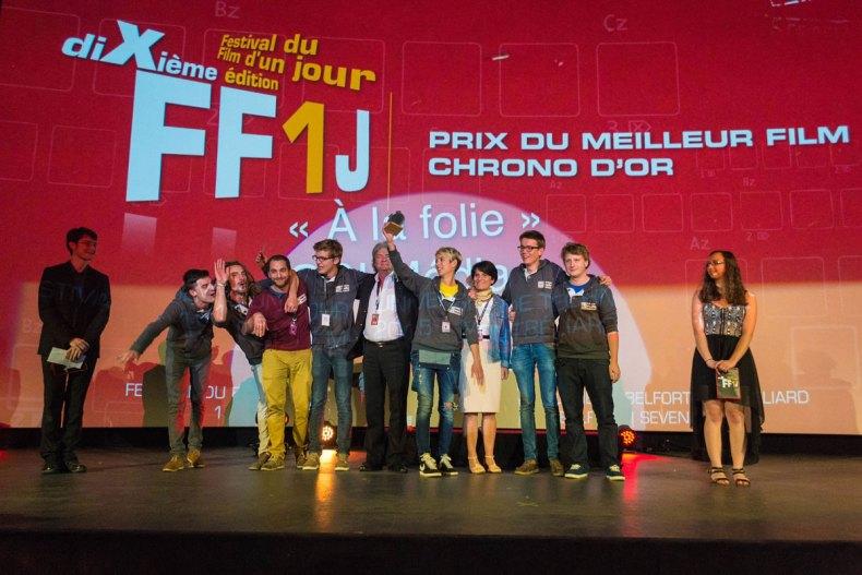 Equipe victorieuse de la 10e édition du FF1J