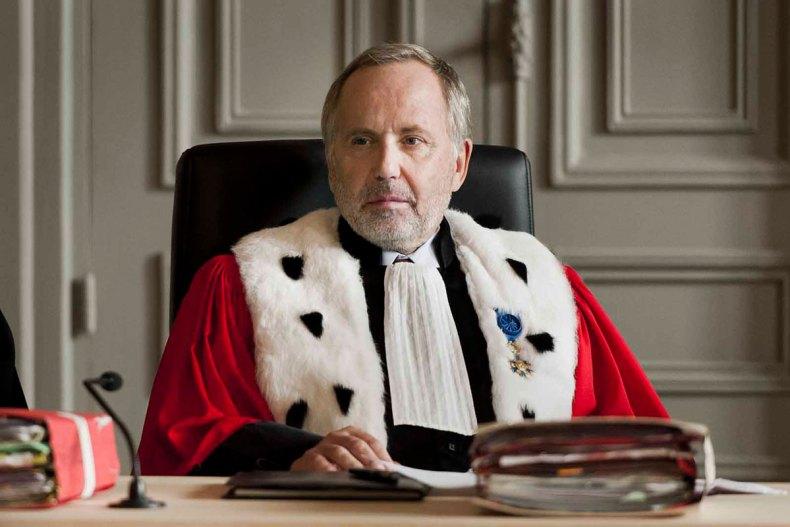 Fabrice Luchini en Président de cour d'assises