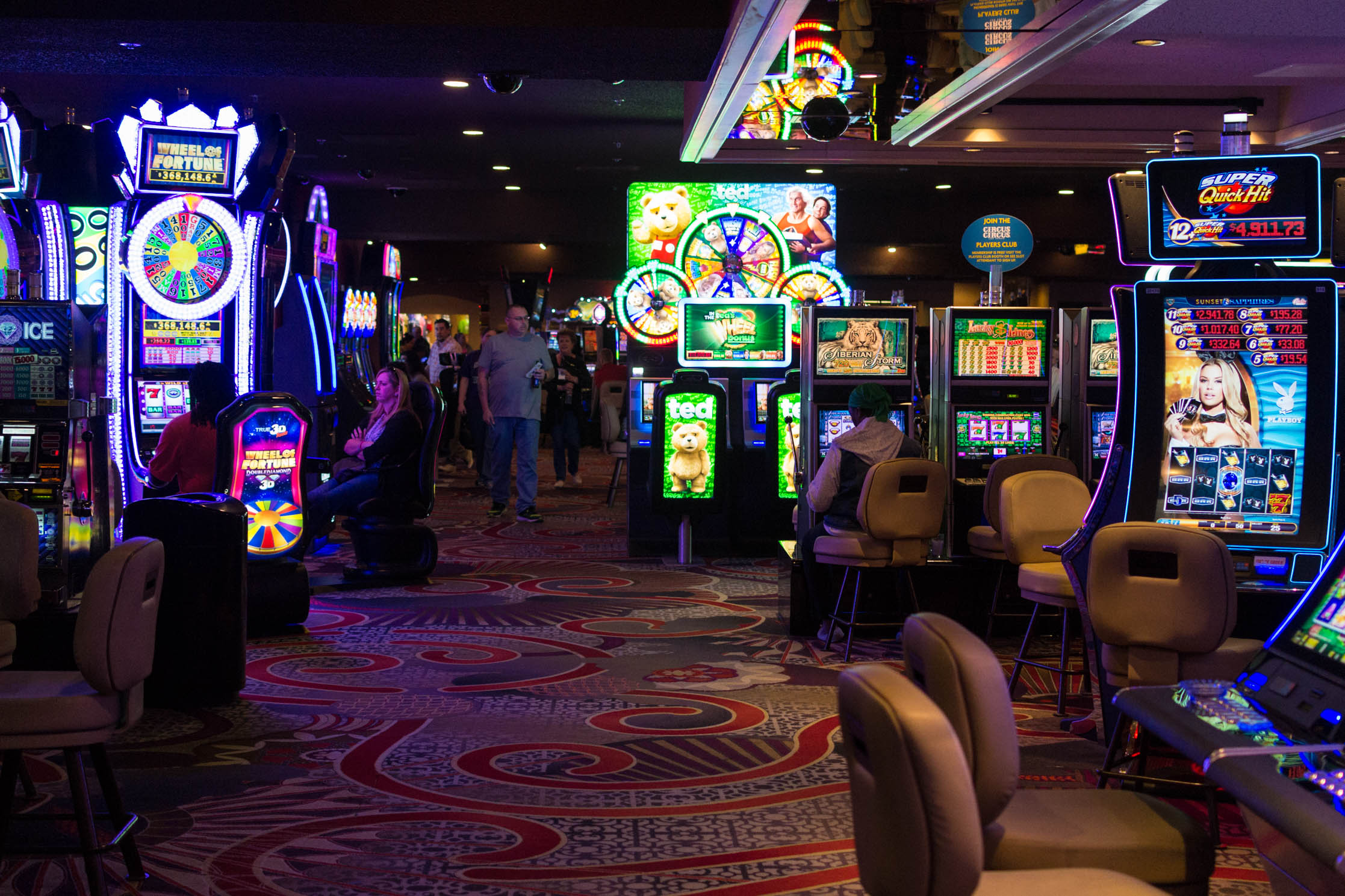 Les machines à sous sont les plus nombreuses à Las Vegas