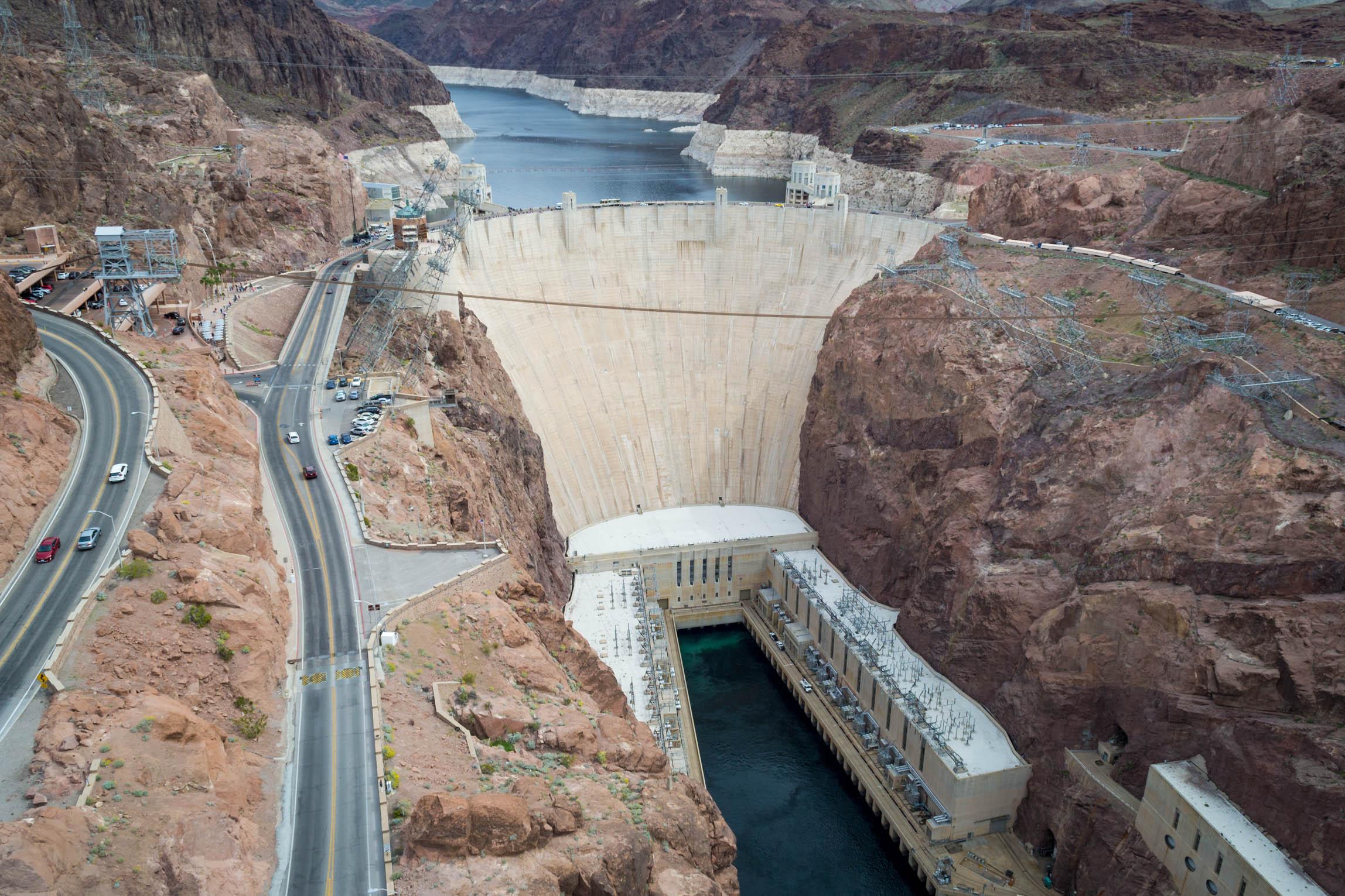 Le barrage Hoover, du côté du Colorado