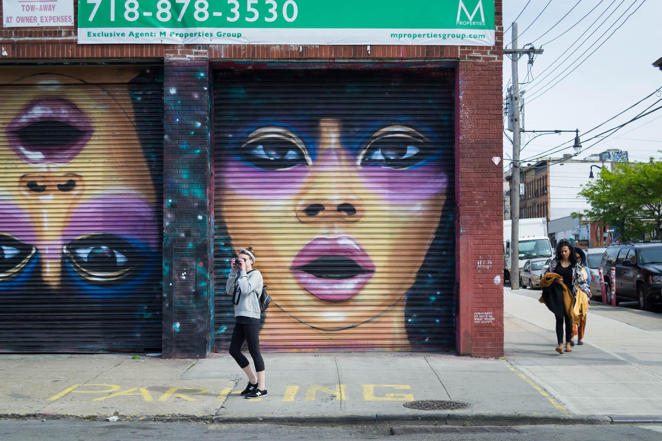 Le Street Art est omniprésent à Bushwick