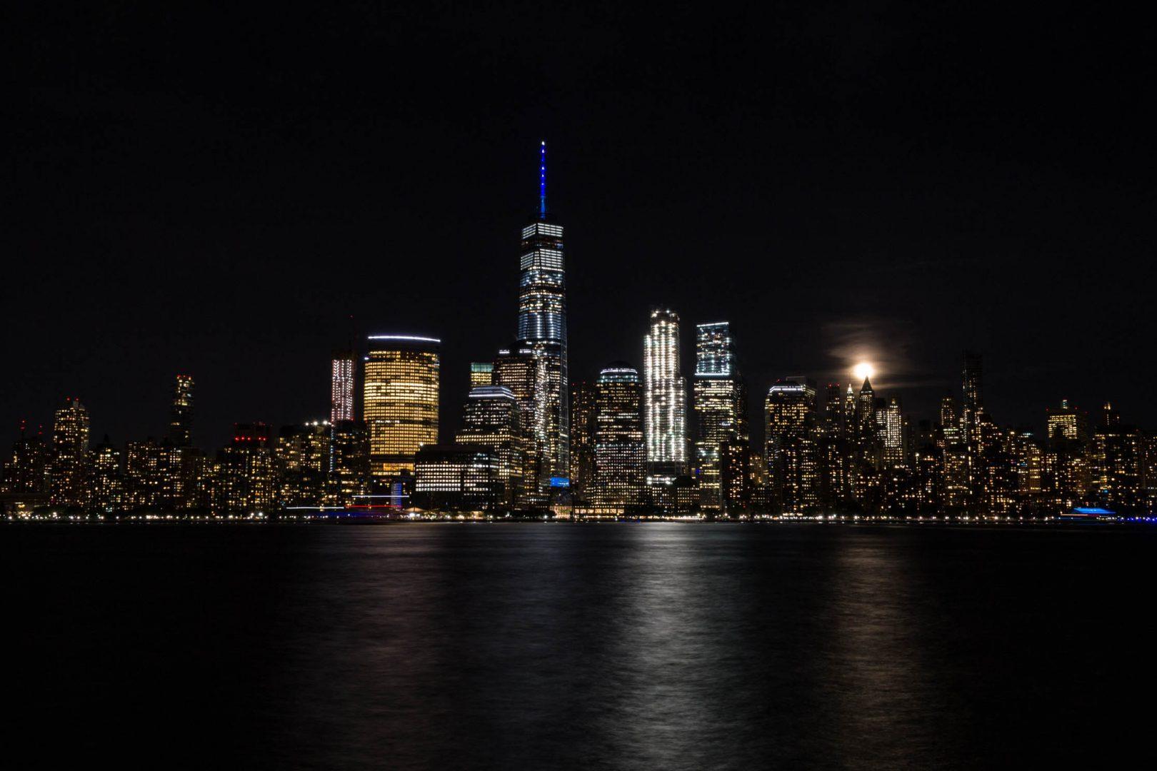 La Skyline depuis Jersey City