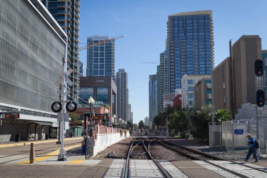 Une image dans les rues de San Diego