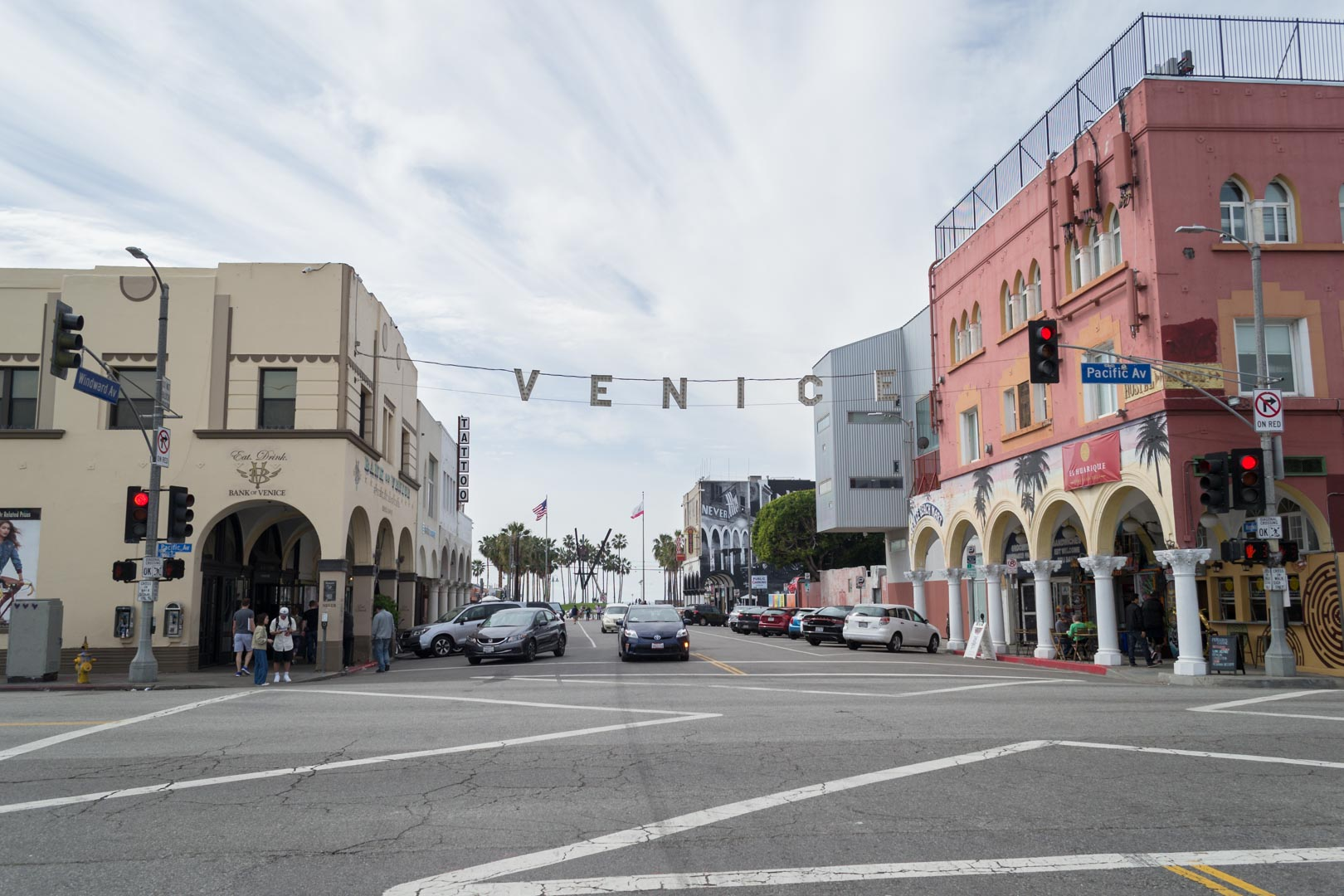 Los Angeles dans le quartier de Venice Beach