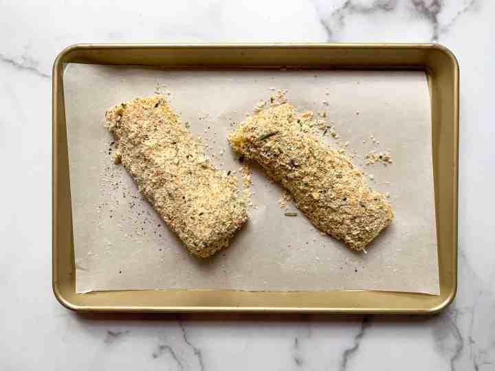 breaded cod fillets