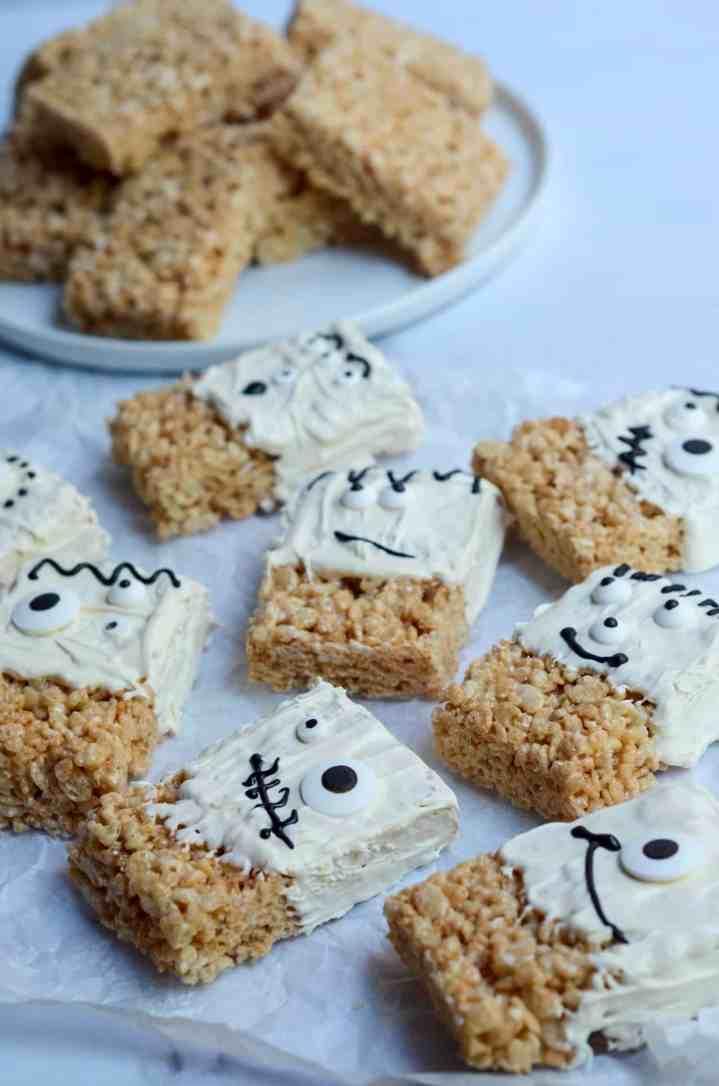 monster rice krispy treats