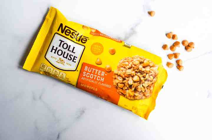 package of nestle's butterscotch morsels
