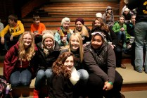 Some of the students and leaders from Engedi Church that I got to hang out with at Spring Hill Camp last February.