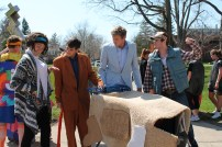 """One of Hope College's many unique, and frankly really weird, traditions is a themed shopping cart race called, """"The Push."""" This theme: Dumb and Dumber."""