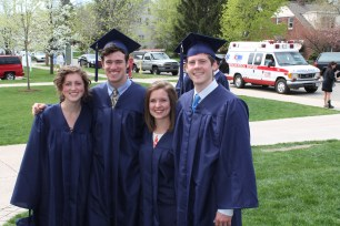 Some of the best friends in the world, Rebecca, Bryant, and of course, Conor.