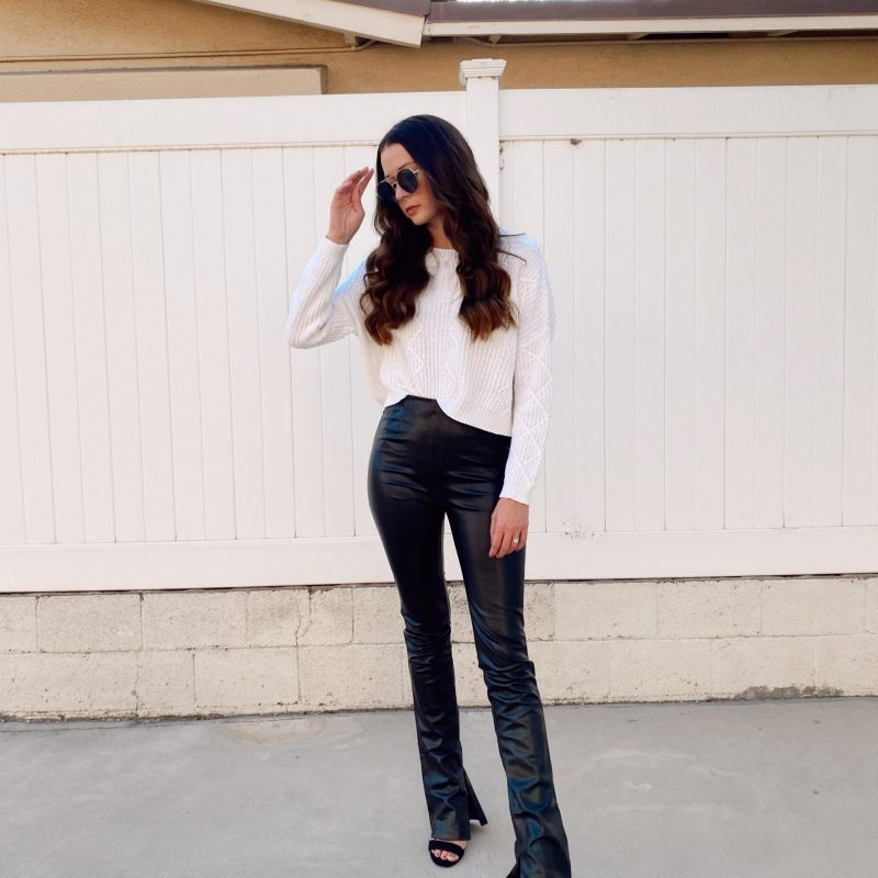 Favorite Fall Piece: Faux Leather Pants