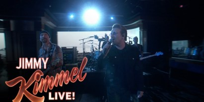 U2 Surprises Audience with Gospel Song Rendition on Jimmy Kimmel