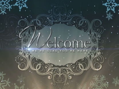 Christmas Background Elegance Welcome Life Scribe Media