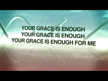Your Grace Is Enough Video Worship Song Track With Lyrics Matt Maher WorshipHouse Media