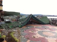 Collapsed Roof