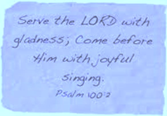 Why I Love to Sing in the Choir (4/6)