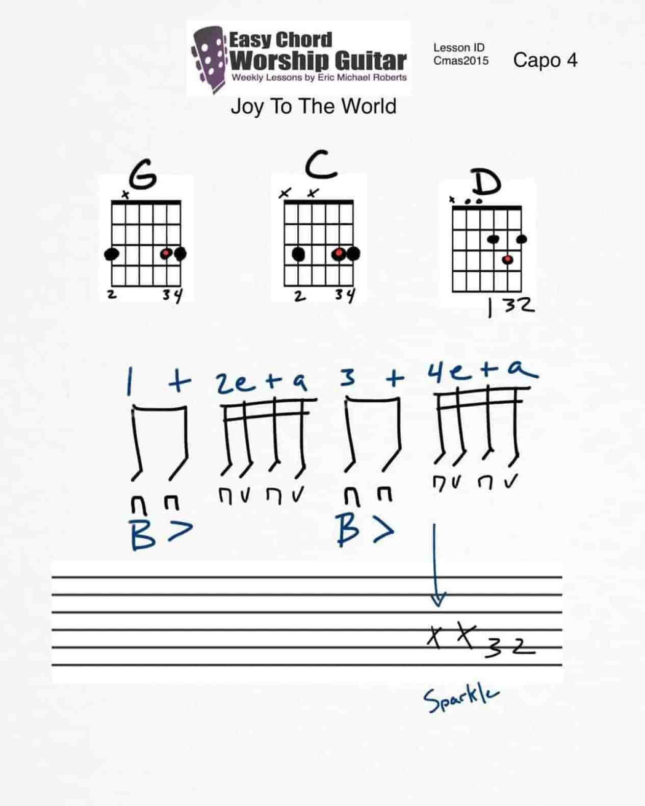 joytotheworld-lesson