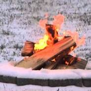 """Xmas Eve on Fire"""