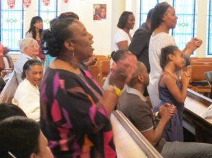 Worship, St Andrew's United Reformed Church, London UK