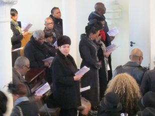Worship in London UK, Ana Gobledale
