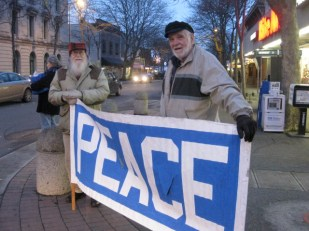 Friday Peace Vigil, Bellingham, Washington USA