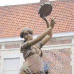 Tambourine dancer, Douai, France