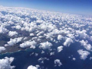 skies over Australia -- Ana Gobledale
