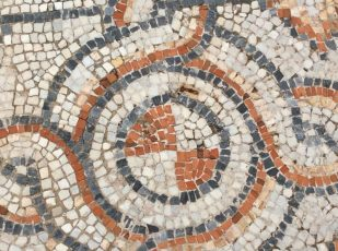 Floor tiles, Ephesus, Turkey, by Ana Gobledale