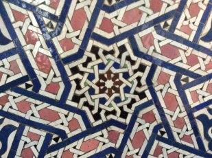 Morocco mosaic by Ana Gobledale