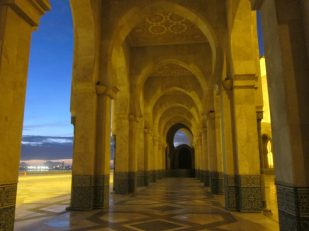 Hassan II Mosque, Casablanca, Morocco -- Ana Gobledale