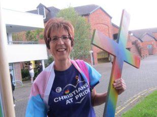 Salisbury Pride , UK -- Ana Gobledale