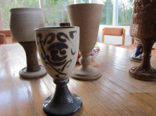 communion chalices, Windermere Centre, Cumbria UK -- Ana Gobledale