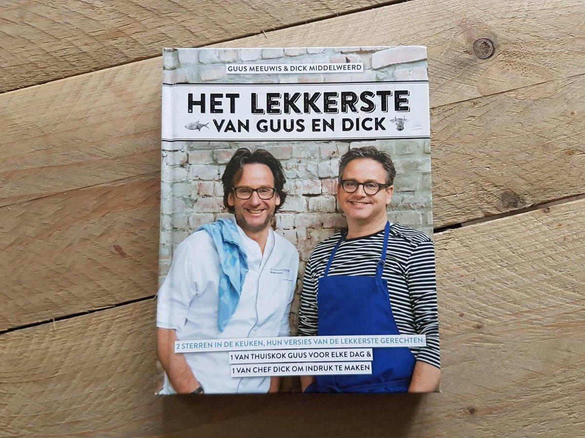 Kookboek waardoor je zin krijgt om te koken:  Het lekkerste van Guus en Dick