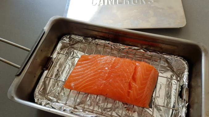 warmgerookte zalm rookoven