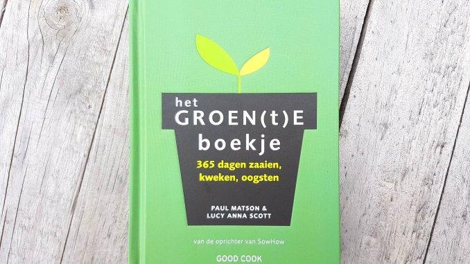 Het Groen(t)e Boekje van Paul Matson van SowHow