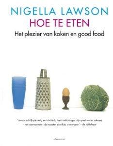 Cover Hoe te Eten Nigella Lawson kookboeken verlanglijstje