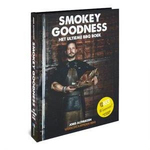 Cover Smokey Goodness voor kookboeken verlanglijstje