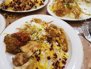 Een bord vol heerlijk Perzisch eten