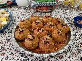 Koofteh Berenji; Perzische gehaktballen met rijst en spliterwten