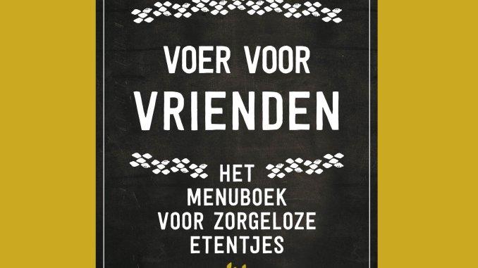 Cover Voer voor Vrienden van Eva Posthuma de Boer