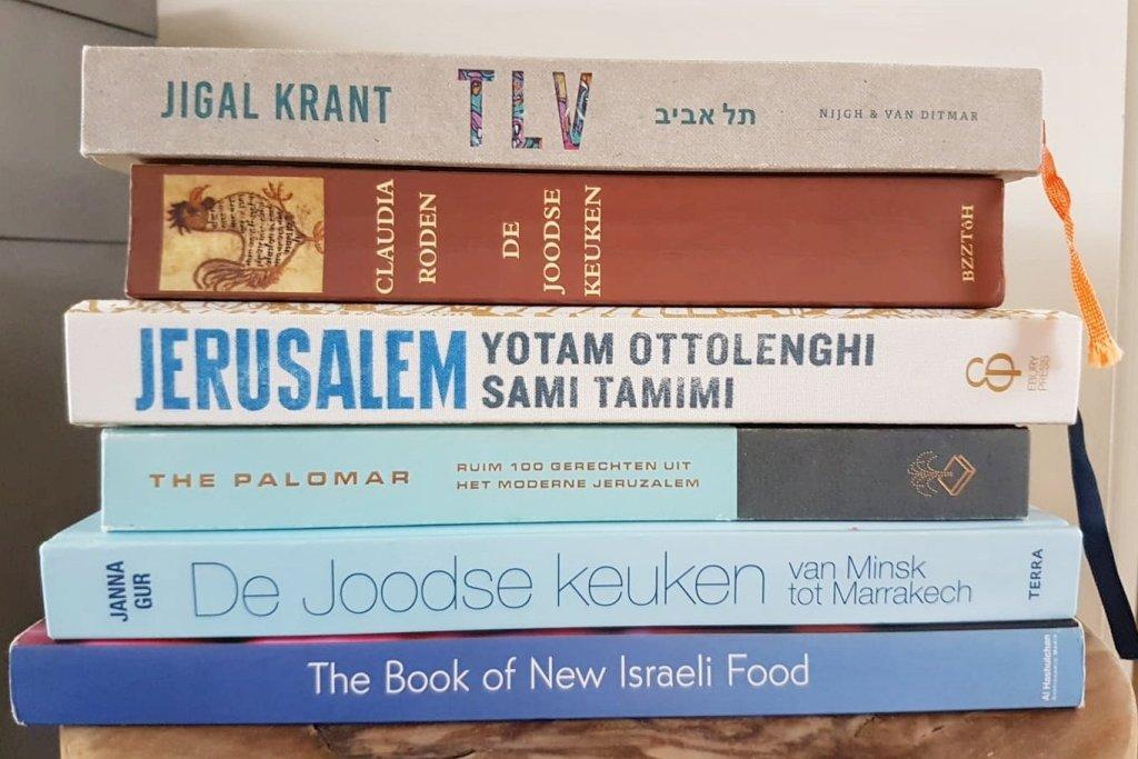 Kookboeken over de Israëlische keuken