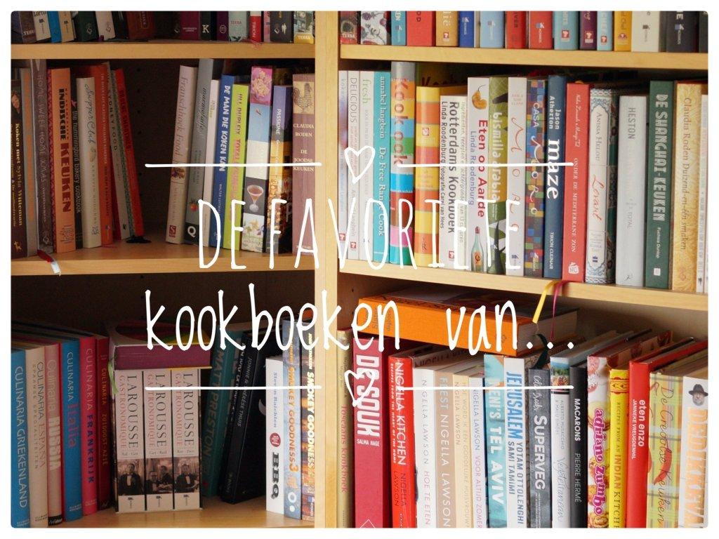 De favoriete kookboeken van