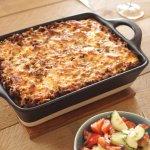 pastitio Griekse ovenschotel met pasta en gehakt