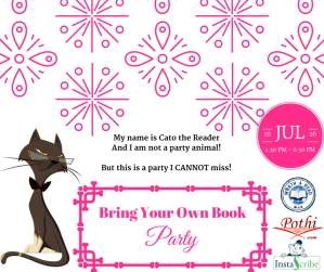 Bring Your Own Book (BYOB) Party on July 16, 2016 (Saturday)