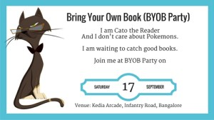 Bring Your Own Book (BYOB) Party on Sep 17, 2016 (Saturday)